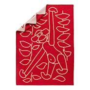 Pläd 80x120 cm Röd