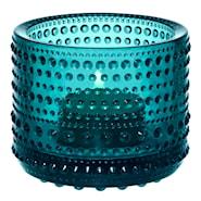Kastehelmi Ljuslykta 6,4 cm Havsblå