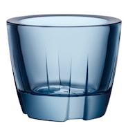 Bruk Ljuslykta Water blue 6 cm