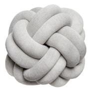 Knot Kudde Ljusgrå 30 cm