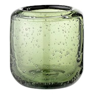 Lyslykt Grön Glass 7,5 cm