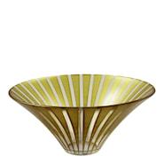 Twist Skål 20 cm Guld