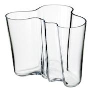 Alvar Aalto Collection Vase 16 cm Klar