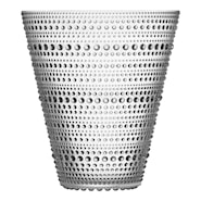 Kastehelmi Vase 15,4 cm Klar