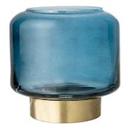 Ljuslykta Blå Glas 8 cm