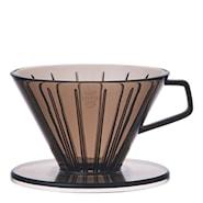 Slow Coffee Filterholder 2 kopper plast