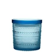 Kastehelmi Burk med lock 11x11,4 cm Ljusblå