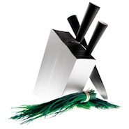 Knivblokk skråstilt Aluminum