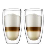 Pavina Kaffeglas dubbelväggat 45 cl 2-pack