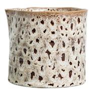 Ostrich Kruka Spräcklig Keramik 14 cm
