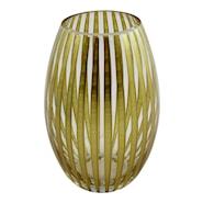 Twist Vas 20 cm konvex Guld