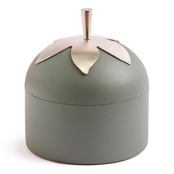 Blad Burk med skopa Grön 11 cm