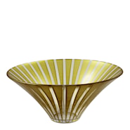 Twist Skål 27 cm Guld