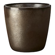 Raw Mugg utan öra 30 cl Metallic Brown