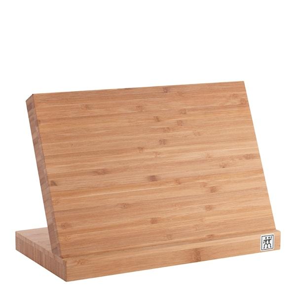 Knivblock med magnet Bambu