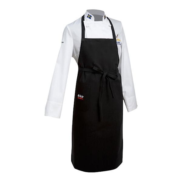 G-90005 Bröstlappsförkläde med ficka