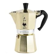 Moka Kaffekokare 6 koppar Guld