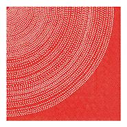 Servett Lumimarja Röd 33x33 cm