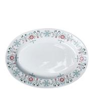 Swedish Grace Winter Fat ovalt 32x22 cm