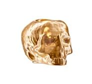 Still Life Lykta Skull 11,5cm Guld