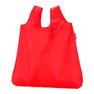 Mini Maxi Shopper Kasse med fodral Röd 15 L
