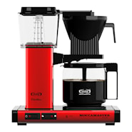 Kaffebryggare Red metallic