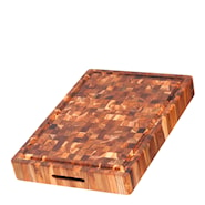 Skärbräda 51x35x6,4 cm Ändträ