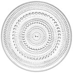 Kastehelmi Tallrik flat 17 cm Klar