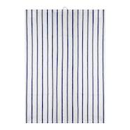 Signerat Handduk Blå randig 50x70 cm