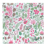 Servett Herbarium Pink 33x33 cm