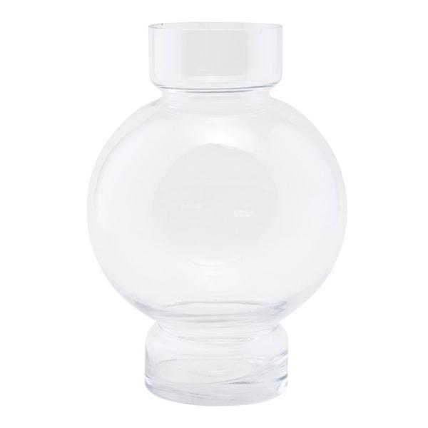 Bubble Vas Klar 17,5 cm