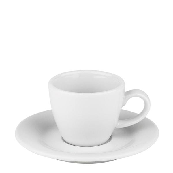 Blues Espressokopp med fat Vit
