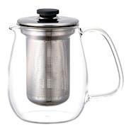 Unitea Tekanne sett 720 ml glass/Rustfri