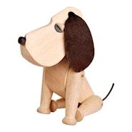 Oscar Hund 13 cm bøk