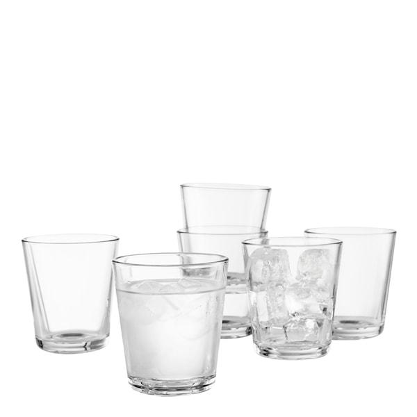 Dricksglas 25 cl 6-pack