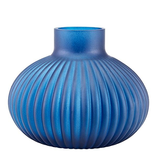 Celebration Vas 11,5 cm Blå frostad