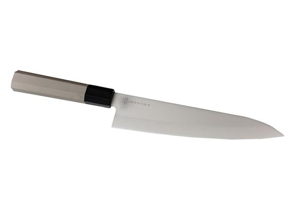 Kockkniv 18 cm Vit