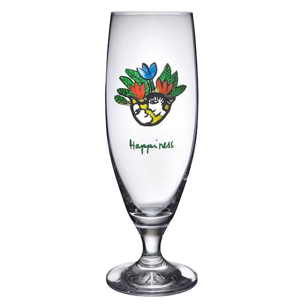 Friendship Ölglas 50 cl Happiness