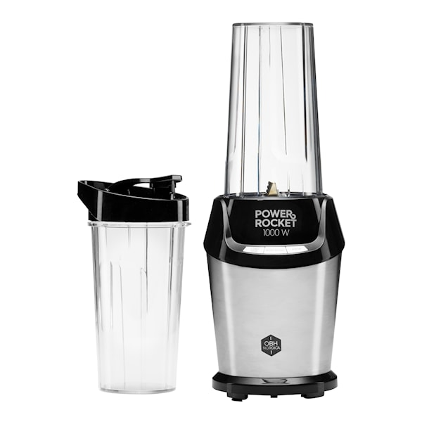 Power Rocket Blender 1000W med 2 behållare
