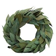 Krans Blad 30 cm Grön