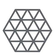 Triangles Grytunderlägg Silikon Grå 16 cm