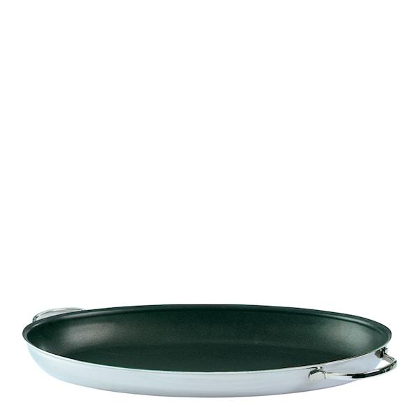 Resto Oval panna/ugnsform 45x24 cm Duraslide