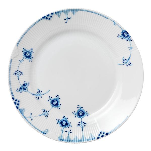 Blue Elements Tallrik flat 28 cm