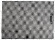 Lounge Tablett Black/silver mini chec