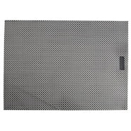 Lounge Tablett Rektangulär Black/Silver 35x48 cm