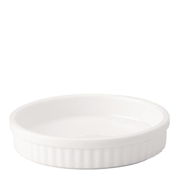 Stenform Crème bruléeform Vit 12x2,5 cm Vit