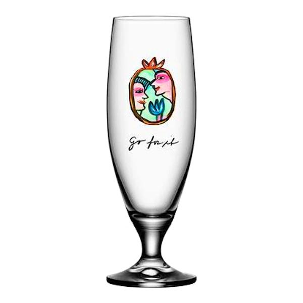 Friendship Ölglas 50 cl Go for it