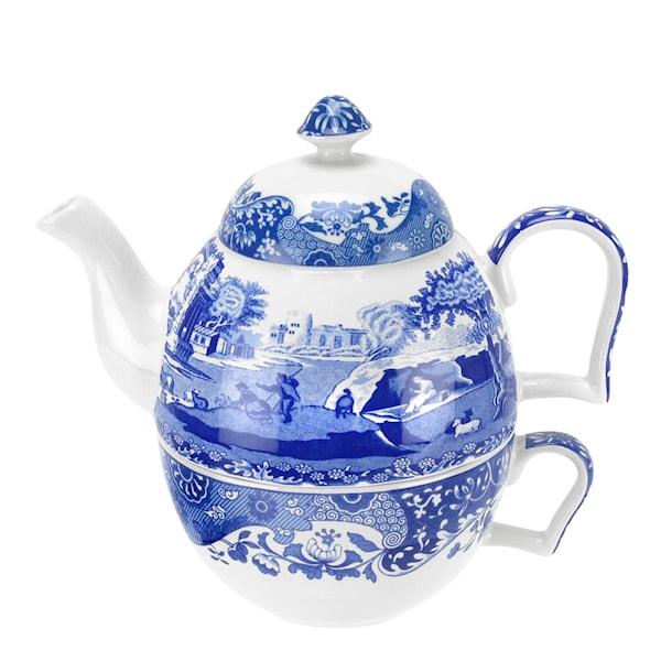 Blue Italian Tea for one