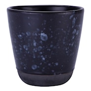 Raw Mugg utan öra 30 cl Spotted Black