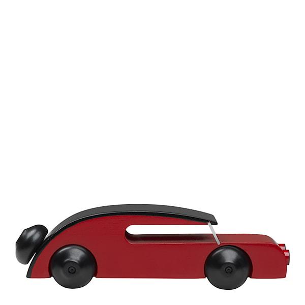 Bil Sedan 13 cm Svart/röd